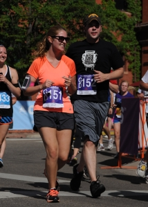 My very first BolderBoulder in 2013!