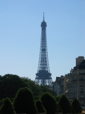 My absolute favorite shot of the Eiffel Tower.