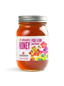 Madhava honey is so delicious... thank you bees!