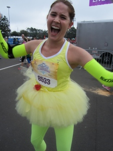 I live to run!  Particularly in adorable costumes!