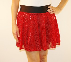 Samantha and I will be donning our sparkle skirts for the BolderBoulder next month!