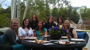 Enjoying brunch with some of the awesome Denver ADPi's!