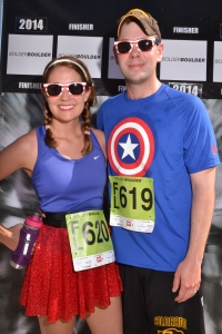 Another awesome year running the BolderBOULDER!