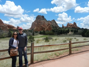 Gorgeous day in Garden of the Gods!