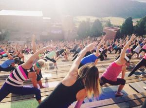 I cannot wait for Yoga on the Rocks - watching the sun rise over Red Rocks while doing yoga, yes please!