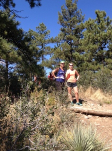 My hiking buddies, Kaitlin and Christie!