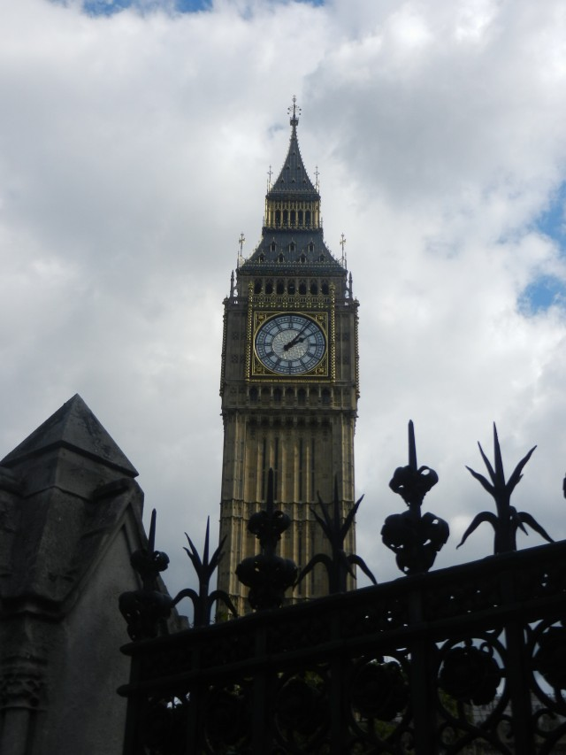 Big Ben and the Queen's Clock Tower.
