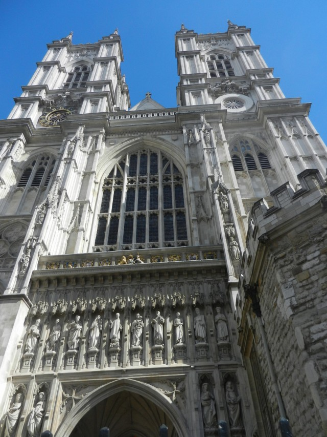 The ever-beautiful Westminster Abbey!