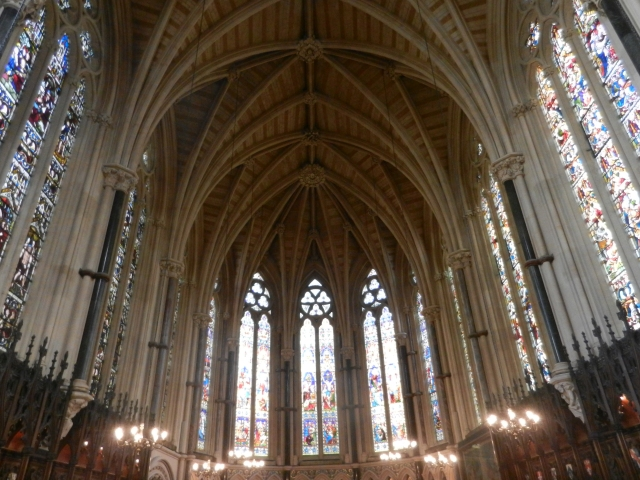 The chapel of Exeter College.