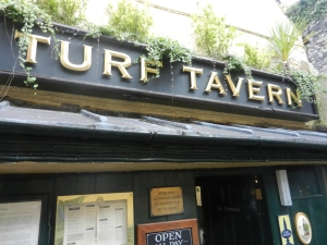 The infamous Turf Tavern, and an excellent spot for a pint.