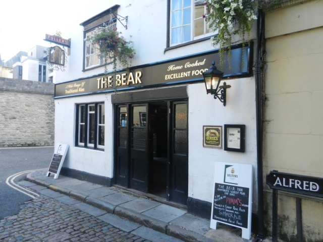 The Bear Inn and Pub, established in 1242.  Inconceivable!