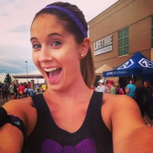 As per usual, the pre-race selfie.