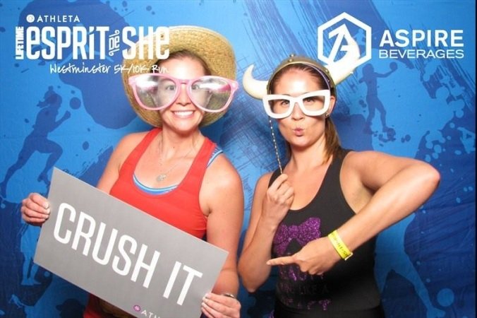 Esprit de She take two in 2015!  This time as an Ambassador!