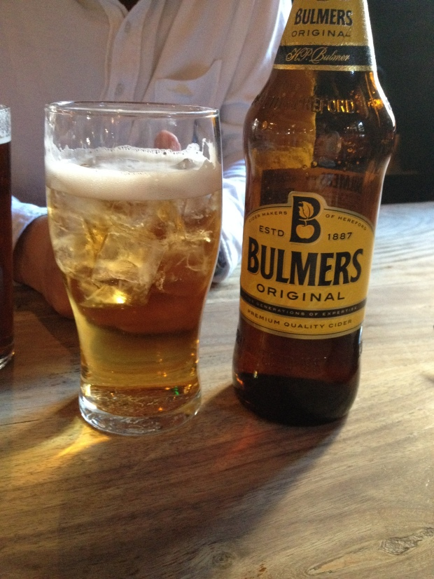 Really, try a Bulmers.  SO GOOD.