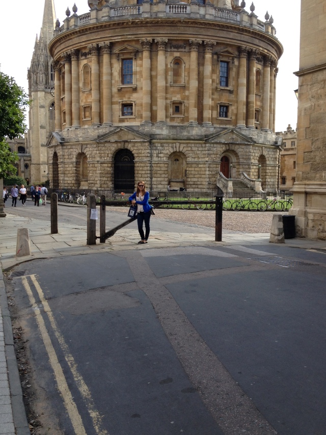 Loving the  Radcliffe Camera architecture and ambiance.  Soak up the smart!