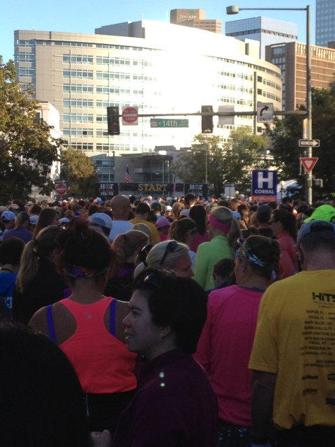 Beautiful morning to run a 15K!