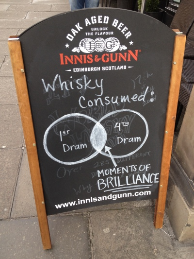 This about sums up Edinburgh...