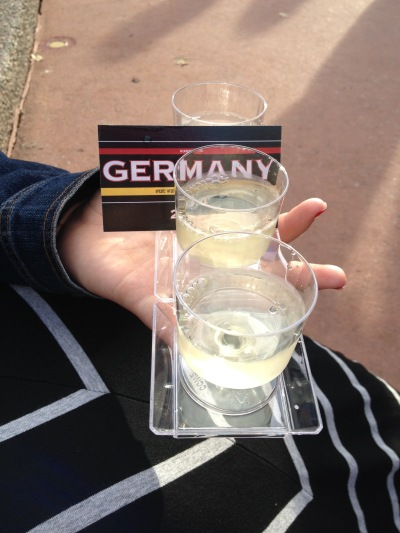 It's appropriate to just drink in Germany...