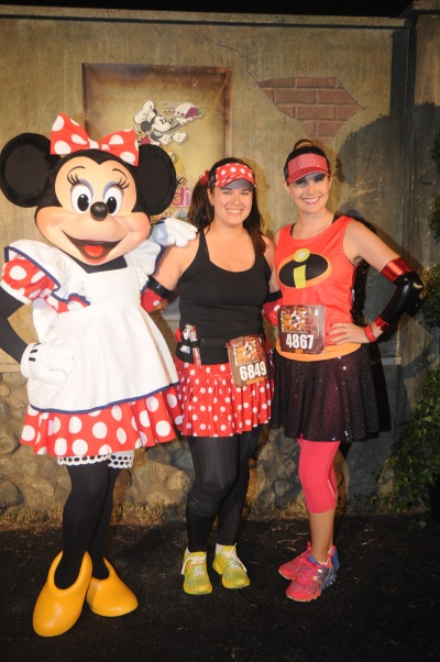 Two Minnies and Elastigirl!