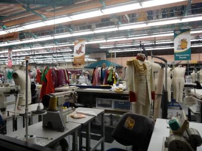 The costume design rooms were spectacular!