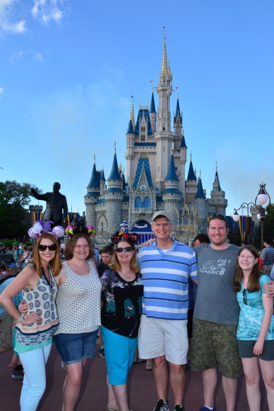 I had such a great time in Disney with my family!  Love this goofy bunch.
