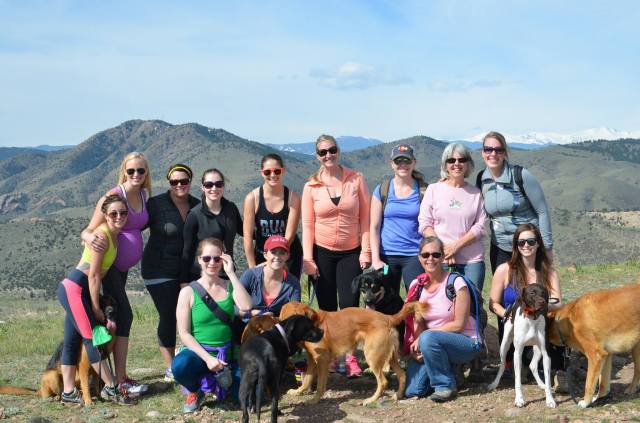 The Denver area TIU ladies and their puppies!