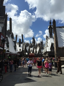 Hogsmeade was so cute, I could have moved in.