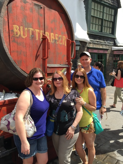 Butterbeer with the fam!