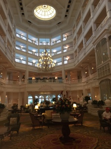 It's been a long time since I'd been to the Grand Floridian, and it's just as stunning!