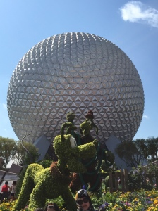 Just had to share one last shot of Spaceship Earth!