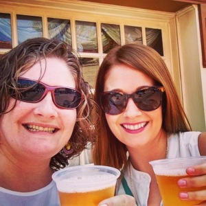 Thank goodness for my Seester - a fellow cider lover!