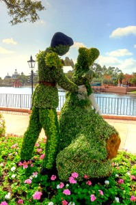 How amazing are these topiaries?