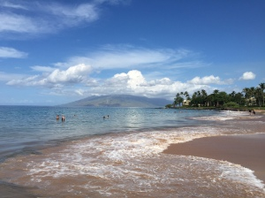 Wailea was nearly perfect, just not for beach running.