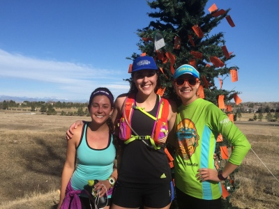 Two of the amazing women and runners I met through Instagram - also both signed up for Colfax!