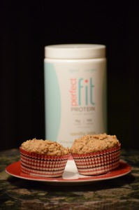 Did I mention that these GF oat muffins are also great with Perfect Fit?
